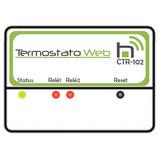 Termostato Web Ctr-102 Bivolt Wifi Duplo Estágio
