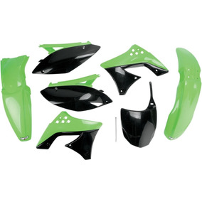 Kit Plásticos Kawasaki Kxf 250 2009-2012 Oem Color Ufo