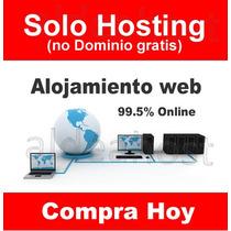 Web Hosting 500 Mb + Creador De Sitios $250 Mxn Anual
