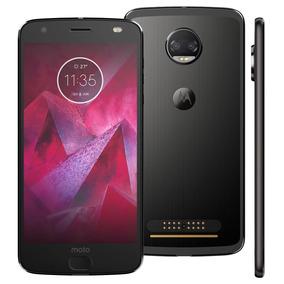 Motorola Moto Z2 Force Ônix 64gb Traseira Android 7.1 6gb