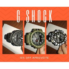 788e25c4619 Relogio Casio G Shock G100 Prova De Choque Magnetismo Wr200 ...