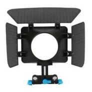 Matte Box Compatible Riel15mm Soporta Follow Focus Dslr Hm4