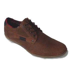 Zapato Casual Martin En Cuero Y Carnaza Suela Tr