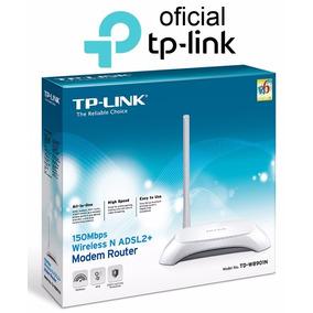 Modem Roteador Wireless N Adsl2 Tp-link Td-w8901n 150mbps