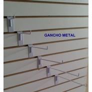100 Ganchos Blister Panel Ranurado Exhibipanel 3/16 Alambre