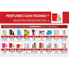 Perfumes Comerciales 60ml Detal Y Mayor 100% Garantizados!!!