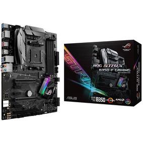Motherboard Asus Rog Strix B350-f Gaming Atx 6 Portas Sata