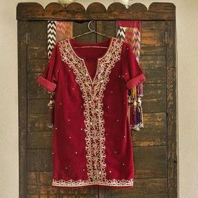 Vestido Rapsodia Invierno Bordado India T S ! Jazmin Chebar
