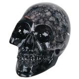 Cráneo De Cristal - Figurilla Coleccionable Estatua Escultu