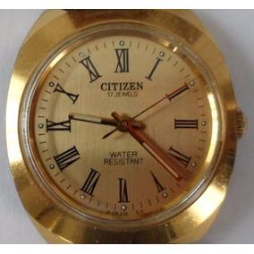 Reloj Citizen Cuerda Manual Números Romanos