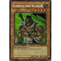 Yu-gi-oh Elemental Hero Wildheart - Common