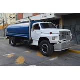 Transporte Agua Potable Camión Cisterna