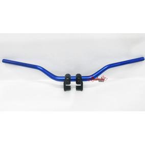 Guidon Guidão Esportivo Tipo Oxxy Twister Cb300 Cg Xj Azul