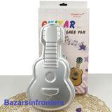 Molde Aluminio Guitarra P/torta Reposteria-bazarsinfrontera