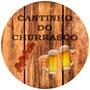 Quadros Tampa Barril Cerveja Churrasco Cachaça Tamanho 40 Cm