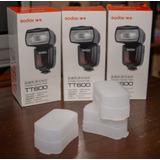 Flash Godox Tt600 Universal Para Sony, Nikon, Canon, Lumix