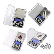Micro Balanza Digital Precision 0.1 A 500gr Joyero Visor Led