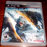 Videojuego Metal Gear Rising Revengeance Ps3 Físico Sellado