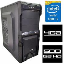 Cpu Pc Intel Core I5 3.3ghz 4gb Hd 500 C/ Garantia