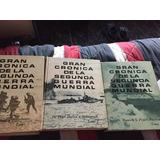 3 Libros Segunda Guerra Mundial Reliquias Antiguas