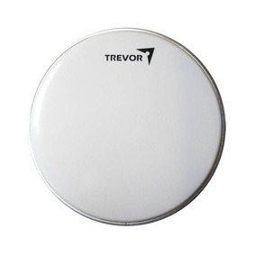Parche Trevor 14 P Para Redoblante Y Timbal Blanco Currugado
