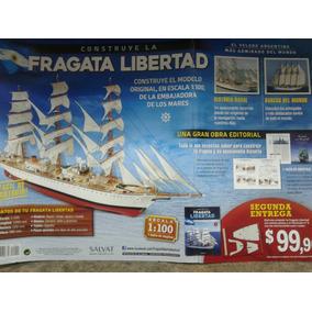 Fragata Libertad Para Armar Num 1,3,6,12,13,15,16,17,20,21