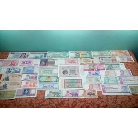 Lote De 30 Billetes Mundiales Y Argentinos De Regalo 10
