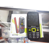 Telefono Celular Basico Doble Chip Liberado Kaissen K119