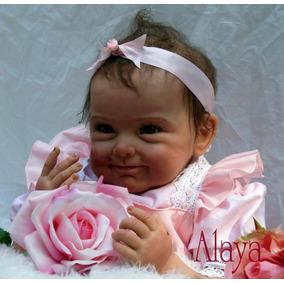 Bebe Reborn Super Realista Boneca Menina 55 Cm