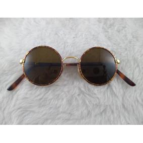 Oculos Redondo John Lennon Vermelho De Sol - Óculos De Sol no ... 1521642346