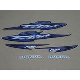 Kit Adesivos Honda Cg Titan 125 Ks 2003 Azul