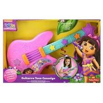 Guitarra Toca Conmigo Dora La Exploradora Fisher Price