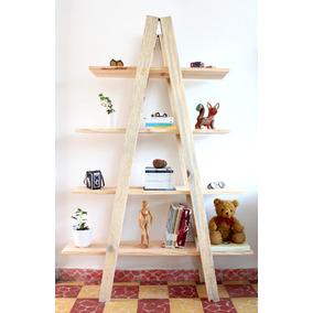 Librero Nuevo Tipo Escalera (madera 100%)