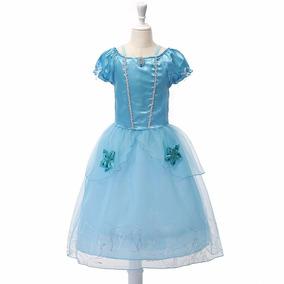 Fantasia Infantil Cinderela Vestido Disney Menina Festa