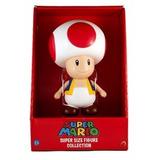 Gran Figura Toad Nintendo 23 Cm Mario Bros - Envio Gratis