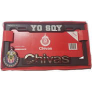 Portaplacas Chivas 12 Estrellas Abs Autos Camionetas Pick Up