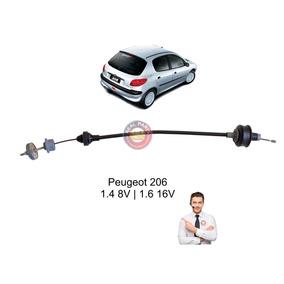 Cabo De Embreagem Peugeot 206 1.4 8v / 1.6 16v Regula Manual
