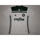 Camisa Oficial Palmeiras Ll/ 2018 Branca M Eg