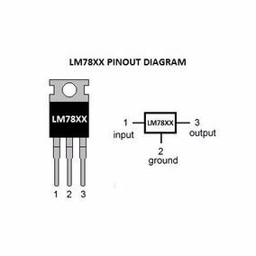 Regulador Tensão 7812 Lm7812 +12v (atacado 40 Unidades)