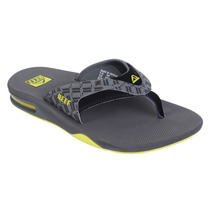 Chinelo Masculino Reef Fanning Ii Prints Black/grey/tribal