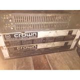 Planta Amplificador Crown Microtech 2.400