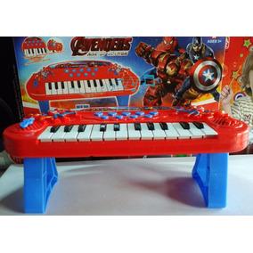 Òrgano Teclado Electronico P/ Niño 24 Teclas Sonidos Y Luces