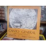 Vinilo Canto General Neruda Aparcoa