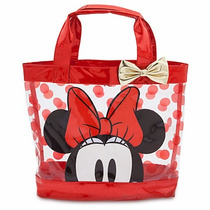 Bolsa Para Playa Minnie Mouse Niña Disney Store 2016