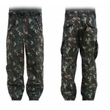 Calça Tática Camuflada Militar/ Swat Masculina Exército