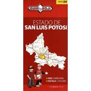 Mapa  Estado De San Luis Potosi Guia Roji