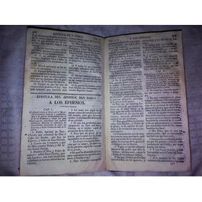 Biblia - Nuevo Testamento Año 1822