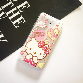 Funda Silicon Samsung J7 Prime 2017 Hello Kitty