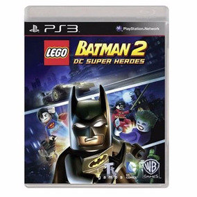 Lego Batman 2 Ps 3 - Mídia Física / Lacrado