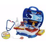 Kit Maleta Juguete Doctor Niños Rosado O Azul / Tecnofactory